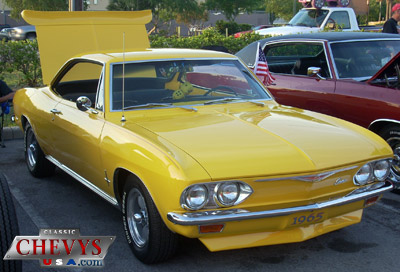 car, car show, classic chevy, advance auto parts, 1965 chevy corvair