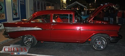 car, car show, classic chevy, old town, cruise nite